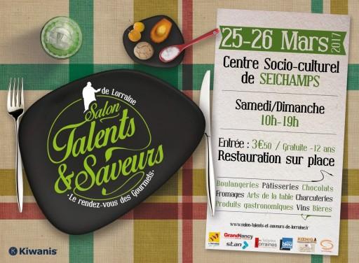 Accueil : salon Talents et saveurs de Lorraine , visuel affiche 2017 [1024x768]