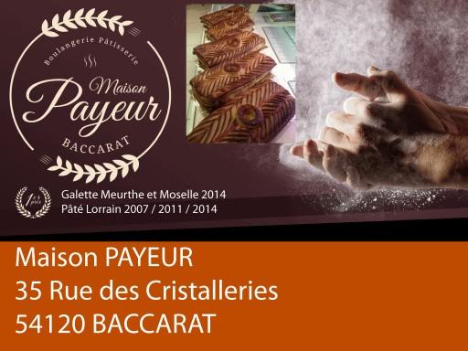 exposants salon talents et saveurs de lorraine édition 2016 : Boulangerie-Payeur-BACCARAT