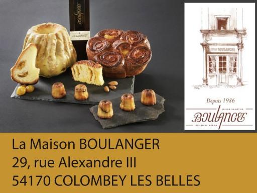 exposants salon talents et saveurs de lorraine édition 2016 : Maison-Boulanger