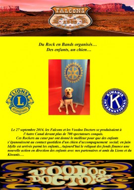 VERSO-FLYER-CIRQUE-SEPTEMBRE, KIWANIS,ROTARY,LION'S