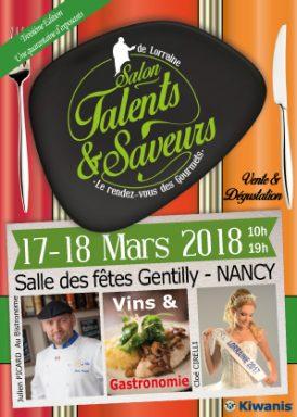 Salon Talents et Saveurs de Lorraine -1er Flyers