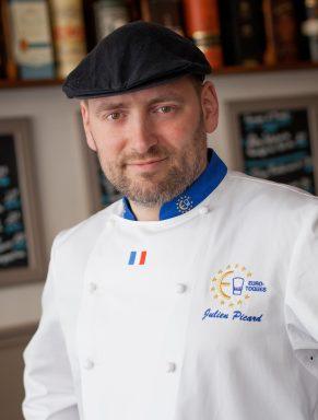 """Julien Picard, Parrain du Salon, il dirige son restaurant """"Au Bistronome"""" à Nancy"""