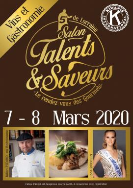 Découvrir la cinquième édition du Salon talents et Saveurs de Lorraine