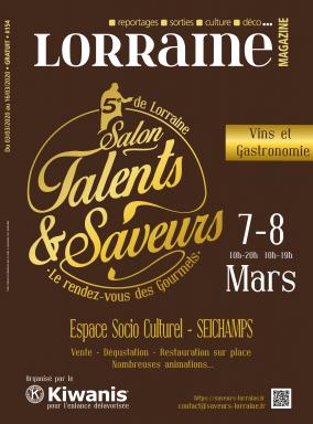 Reportage à la Une de Lorraine Magazine : Talents et Saveurs...